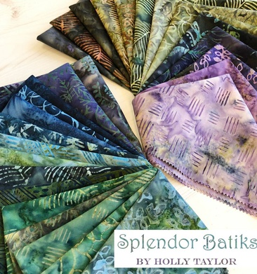 Splendor Batiks by Moda