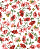 Maywood Studio Prose Medium Floral Ultra White