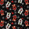 Studio E Fabrics Snow Place Like Home Tossed Bird Houses Black