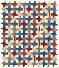 Stongehenge Land of the Free Stars and Stripes - Stars of Valor Free Quilt Pattern