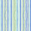 Clothworks Bike Ride Stripe Mint