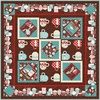 Cuppa Cocoa (Chocolate) Free Quilt Pattern