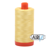 Aurifil Thread Lemon