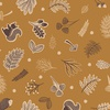 Lewis and Irene Fabrics Under the Oak Tree Woodland Acorn