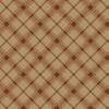 Benartex Lodge Life Rustic Plaid Pecan