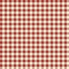 Henry Glass Buttermilk Winter Plaid Cream/Red