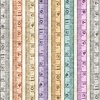 Quilting Treasures Tailor Made Tape Measures Stripe Cream