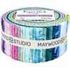 Bejeweled Batiks Strip Roll by Maywood Studio