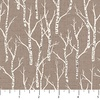 Northcott Woodland Pitter Patter Aspen Trees Tan