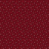 Benartex A Quilter's Christmas Winter Snowflakes Berry