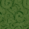 Maywood Studio Elegant Scroll 108 Inch Backing Forest Green