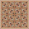 Autumn In Bluebell Wood III Free Quilt Pattern