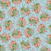 Henry Glass Fabrics Tarrytown Stripey Bouquet Blue