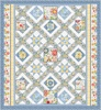 Sing Your Song (Blue) Free Quilt Pattern
