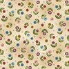 Michael Miller Fabrics Born To Sew Button Buds Beige