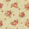 Andover Fabrics Bed of Roses Dahlia Cream