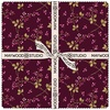 "Burgundy and Blush 10"" Squares by Maywood Studio"