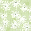 Clothworks Sunday Afternoon Daisies Olive