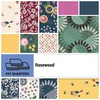 Rosewood Fat Quarter Bundle by Clothworks