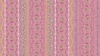 Maywood Studio Flower and Vine Stripe Pink