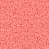 Clothworks Fresh Meadow Floret Dark Coral