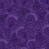 Clothworks Sea Goddess Geo Dark Purple