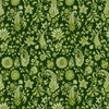 In The Beginning Fabrics Garden Delights III Paisley Green