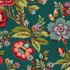Henry Glass Fabrics Tarrytown Main Floral Teal