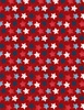 Wilmington Prints 7th Inning Stretch Stars Red