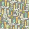 Windham Fabrics Road Trippin Cityscape Grey