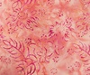 Northcott Banyan Batiks Boho Beach Flowers Leaves Coral/Pink