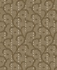 Maywood Studio Heritage Woolies Flannel Stitched Scroll Tan/Brown