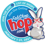 January 2021 Shop Hop Bunny