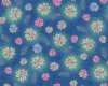 Quilting Treasures Enchanted Floral Tossed Blue