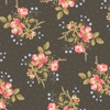 Windham Fabrics Annie Floral Clusters Charcoal