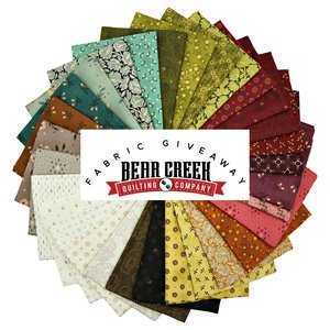 Bear Creek Quilting Company March Give-Away