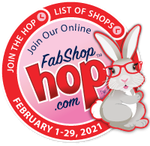 February 2021 Shop Hop Bunny