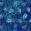 In The Beginning Fabrics Seasons Leaves Blue