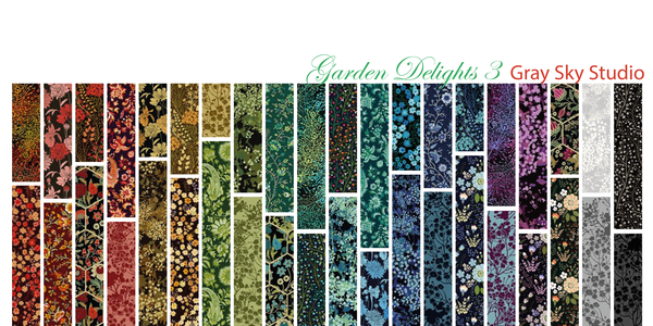 Garden Delights III by In The Beginning Fabrics