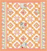 Sing Your Song (Orange) Free Quilt Pattern