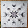 Winter In Bluebell Wood Star Quilt Free Pattern