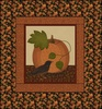 Pumpkin Patch - Pumpkin and Crow Free Quilt Pattern