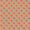 Clothworks Garden Notes Plaid Orange
