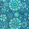 Anthology Fabrics Touch the Sky Batik Teal