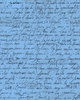 Quilting Treasures Sweet Caroline Calligraphy Blue