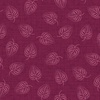 Maywood Studio Flower and Vine Leaf Red