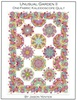 Unusual Garden II - One Fabric Kaleidoscope Quilt Pattern