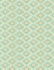 Wilmington Prints Humming Along Diamond Geometric Tan/Green