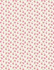 Wilmington Prints Fleurette Tiny Blossoms White/Pink