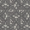 Camelot Fabrics Winnie the Pooh Wonder Whimsy Lace Silhouette Dark Grey